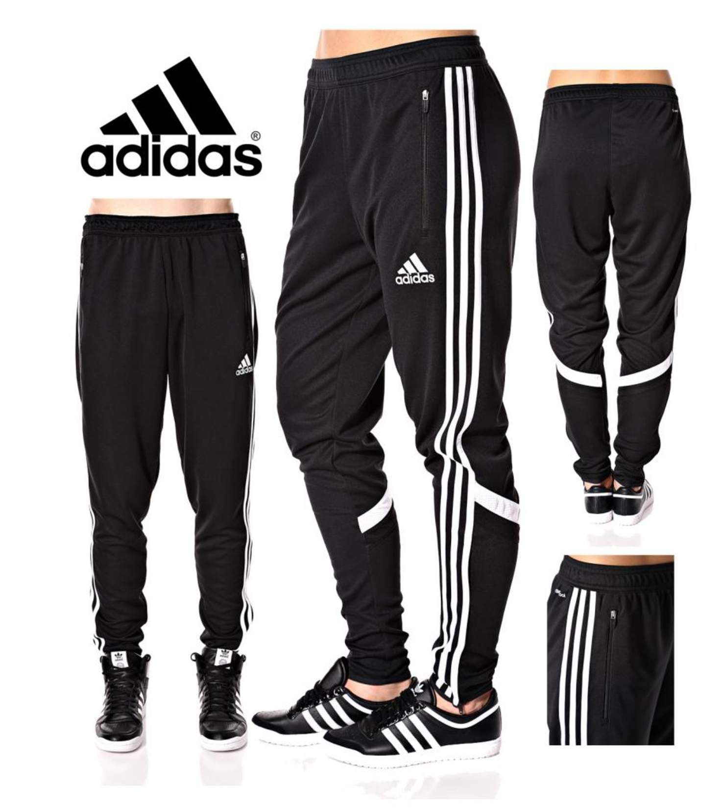 Adidas Soccer Pants Condivo 14 Slim Fit Training Climacool