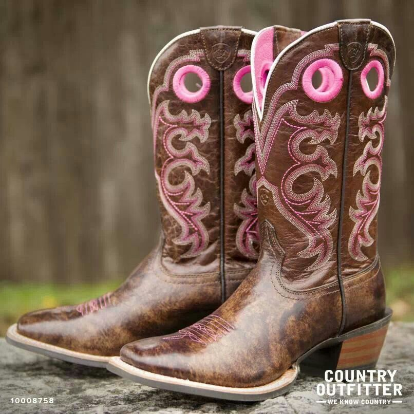 ariats crossfire cowboy boots boots brown and