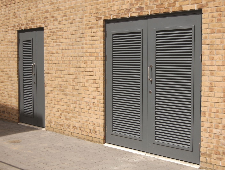 Aluminum Louvered Exterior Doors Louvre Doors Patio Door Coverings Garage Door Design