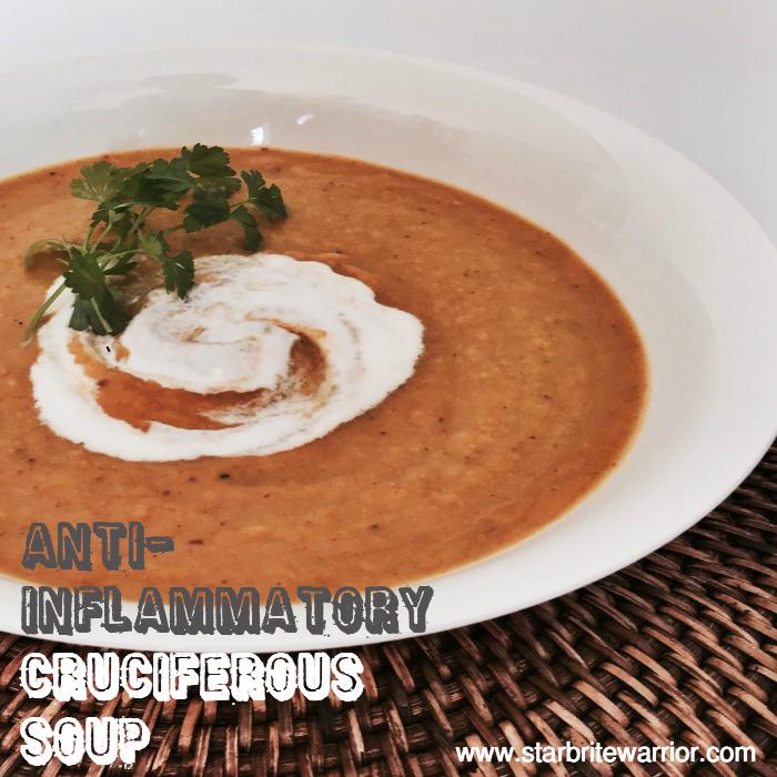 Anti-Inflammatory Cruciferous Soup