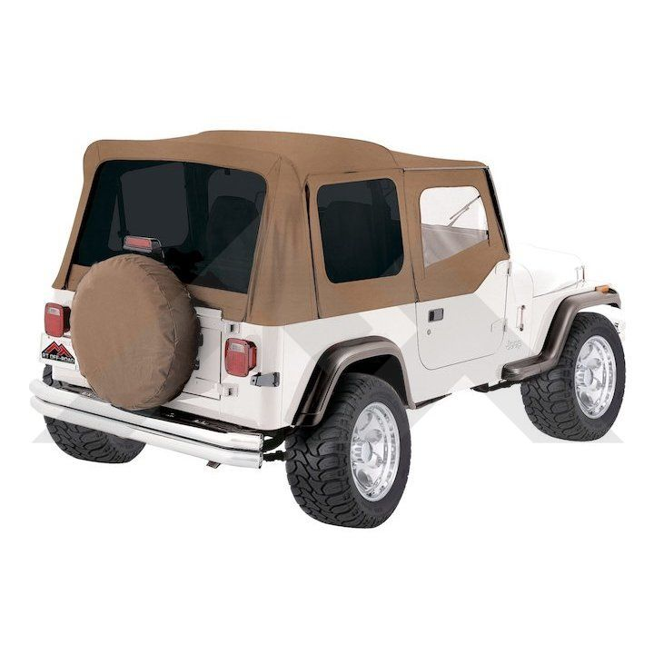 Complete Soft Top Spice Denim Tinted Windows Soft Tops Yj