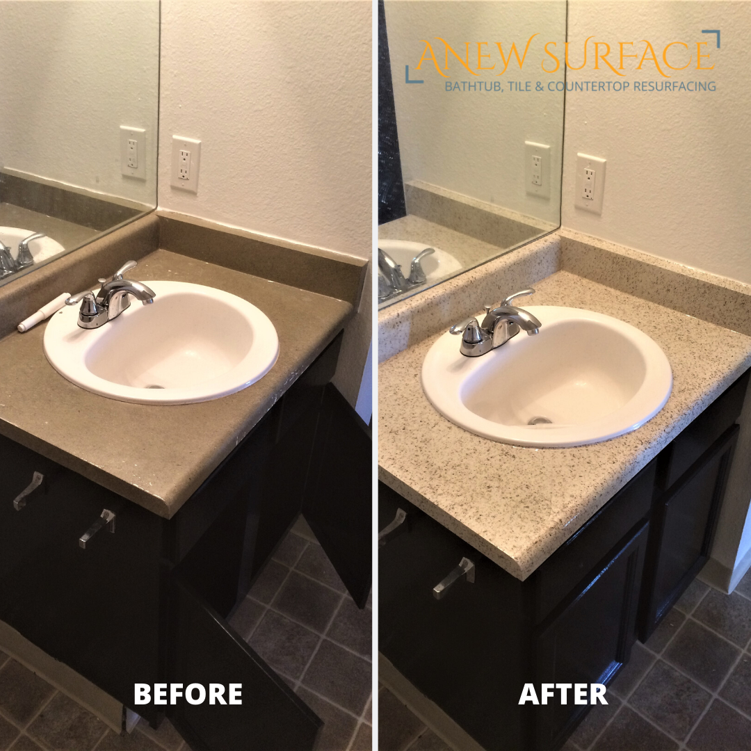 Give Those Bathroom Countertops New Life With 12 Color