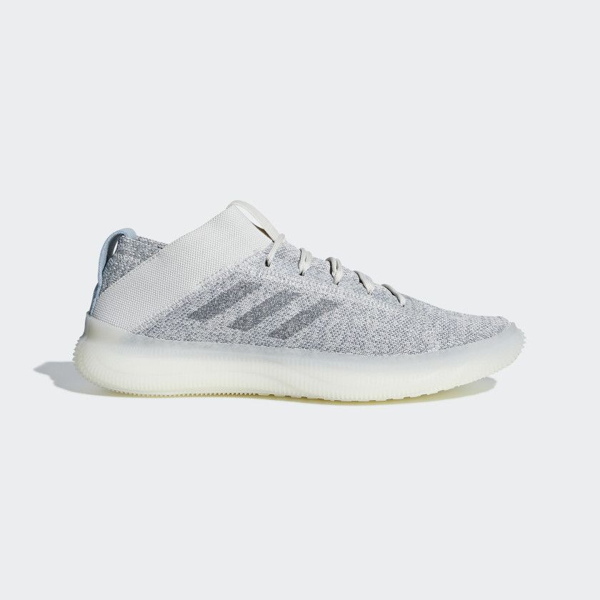 buy popular 2144e 7a7d5 Pureboost Trainer Shoes Raw White   Grey   Running White BB7212