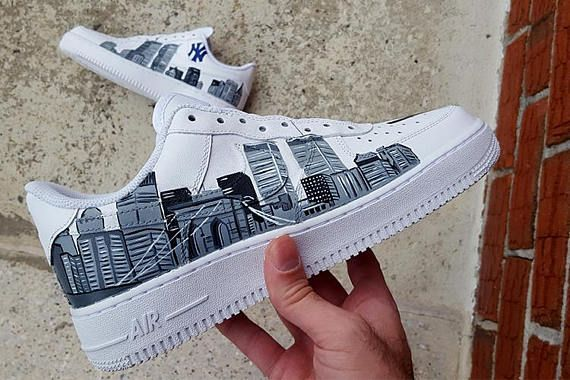 info for 716f0 c502f Custom Nike Air Force 1 Shoes AF1 Nike Shoes Air Force 1
