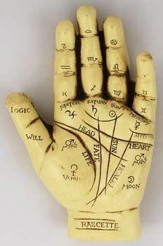 Palmistry Hand  Price : $14.00 http://www.bbcmagick.com/Palmistry-Hand/dp/B0097CYIDM