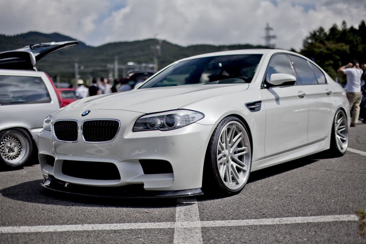 A Beautiful Bmw M5 F10 In Alpine White Bmw Bmw M5 Bmw 528i