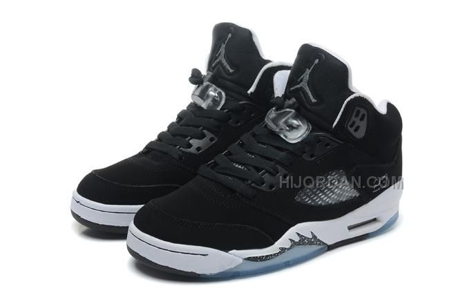 baf929d3437c0f Only 87.00  JORDAN  SHOES 5  RETRO GS OREO BLACK COOL GREY WHITE WOMEN SIZE  19 Free Shipping!