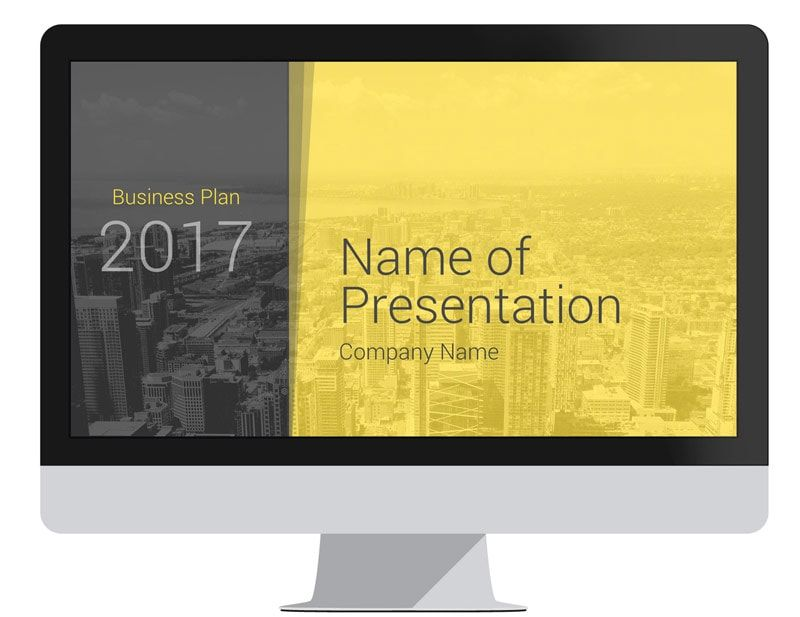 Business Proposal PowerPoint Template Business proposal - it company profile template