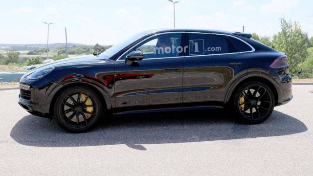 porsche cayenne coupe spied for the very first time cars rh pinterest com