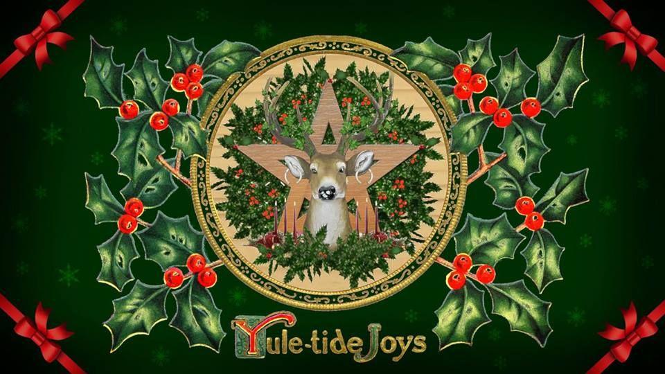 Yuletide Stag Yule, Yule celebration, Winter solstice