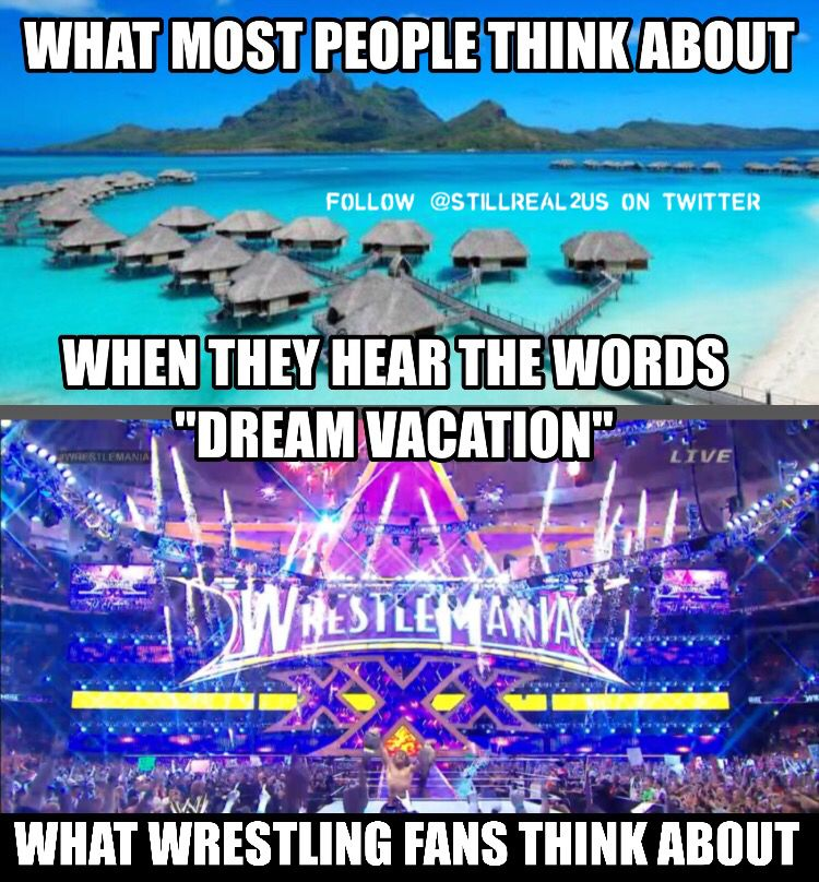 A Wrestlemania on the beach would be even better!!