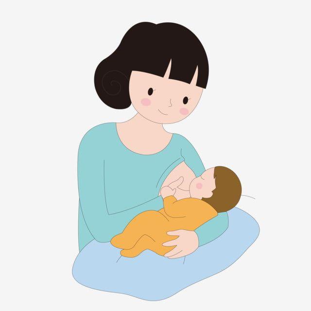 餵奶 餵奶媽媽 媽媽餵奶 母嬰, 母嬰健康, 健康, 健康的母親和嬰兒向量圖案素材免費下載,PNG,