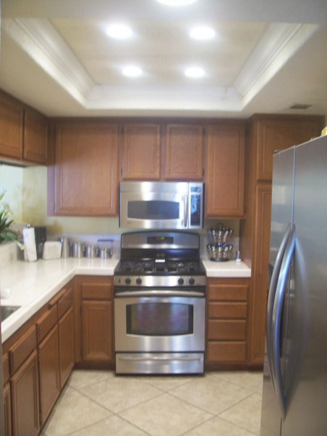 Replace Old Recessed Kitchen Fixture We Only Use Quality
