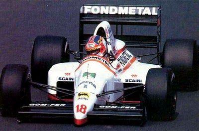 1989 Piercarlo Ghinzani; Osella