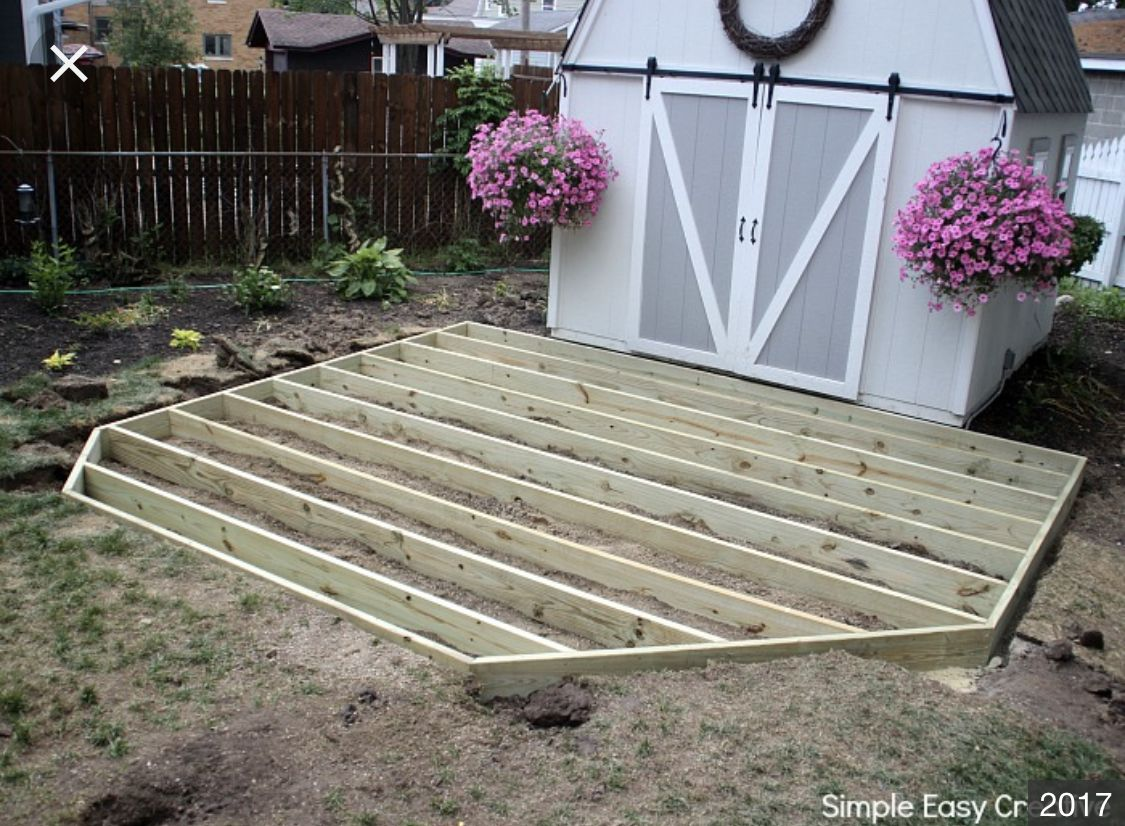 Pin By John C On Exterior Home Building A Deck Diy Deck Ground Level Deck