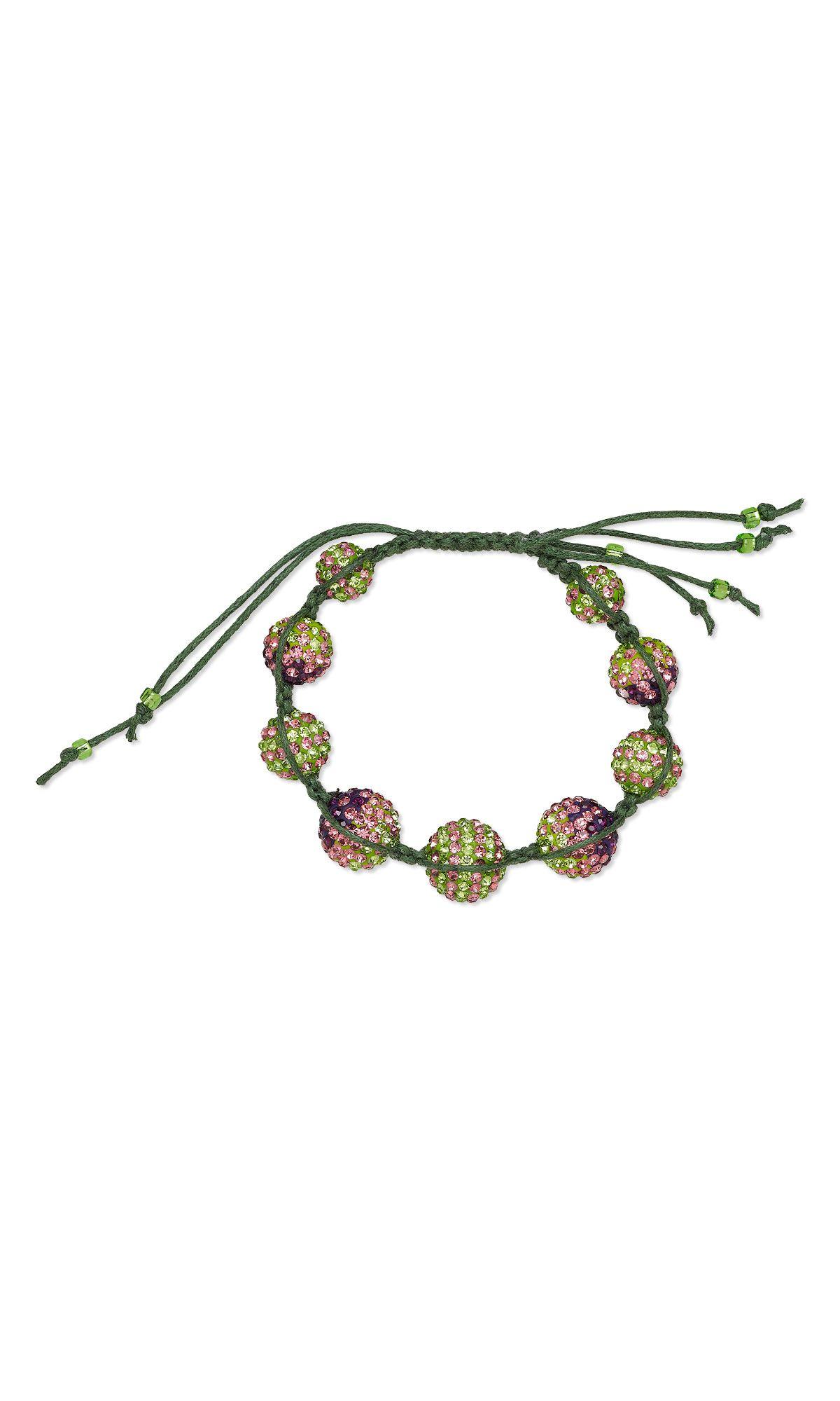 57d76921cbf4b Jewelry Design - Bracelet with Glass Rhinestone