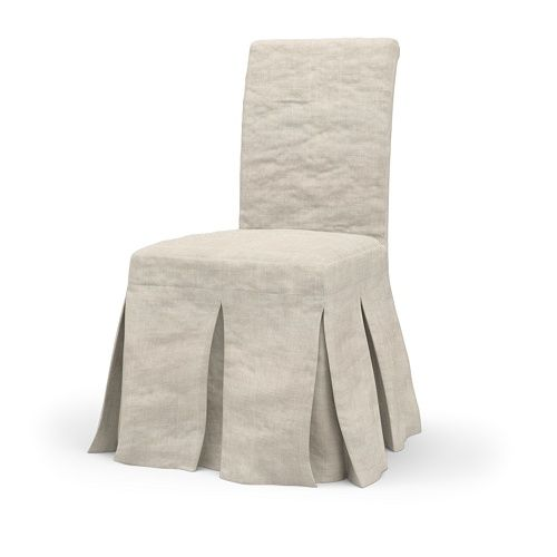 parsons chairs ikea henriksdal with bemz linen cover home