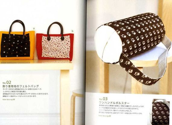 Simple and Liberal KIMONO BAGS  - Japanese Craft Book