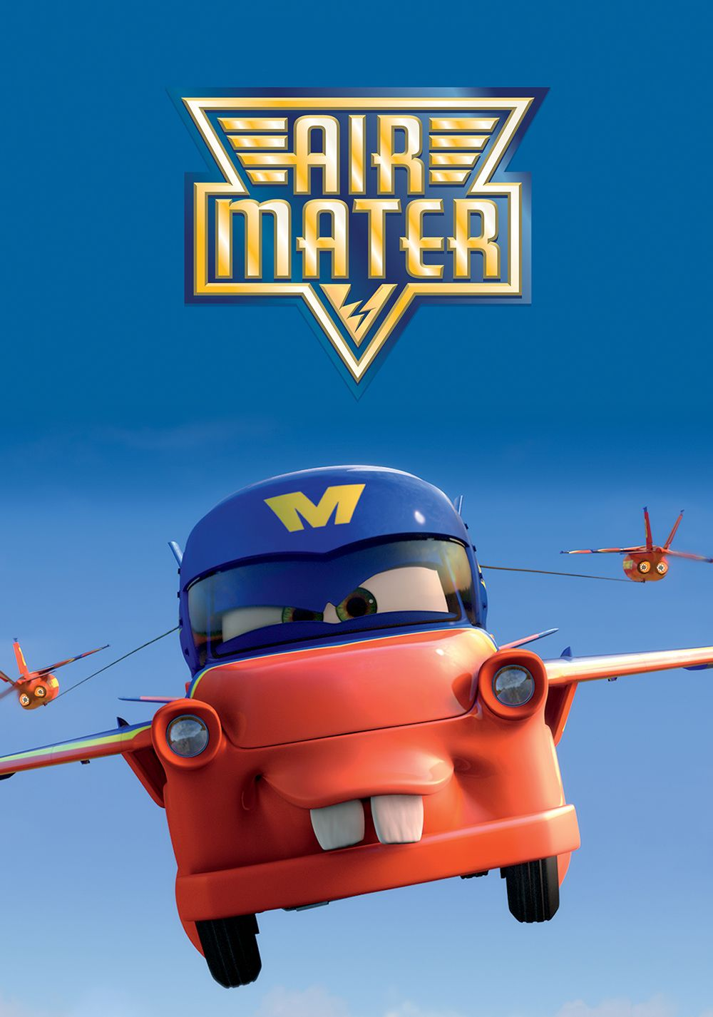 airline poster disney Pixar disney cars toon air martin