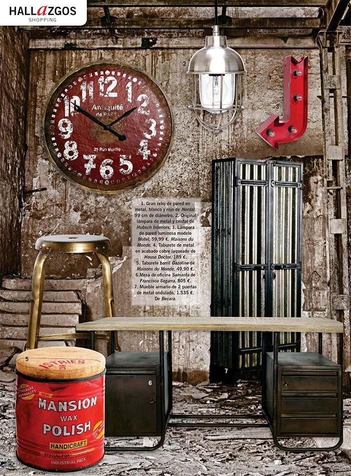 Las claves del estilo factory en casa campo muebles - Mobiliario industrial vintage ...