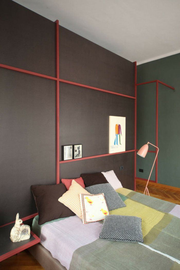 Wohnideen Apartment schlafzimmer renovieren renovierung mietwohnung wohnideen bedroom