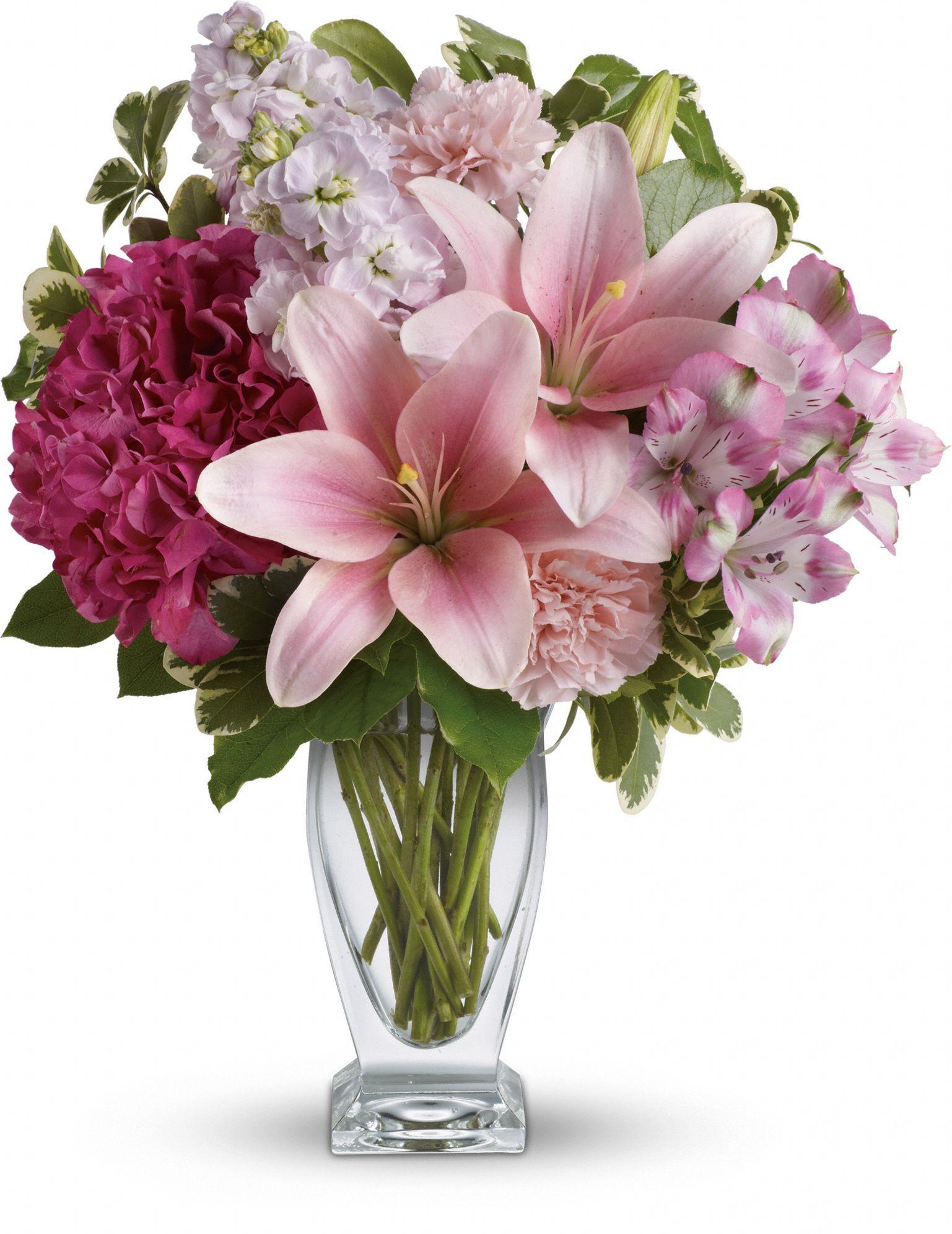 Telefloras Blush Of Love Bouquet Flora Pinterest Flowers