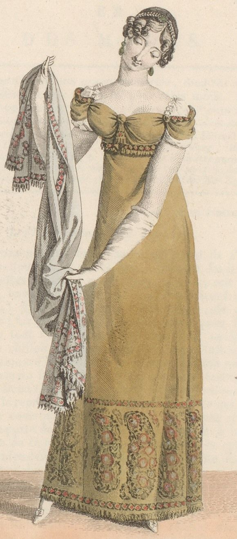 Journal des dames et des modes / Costume Parisien: 15 Janvier, 1812 (2a)