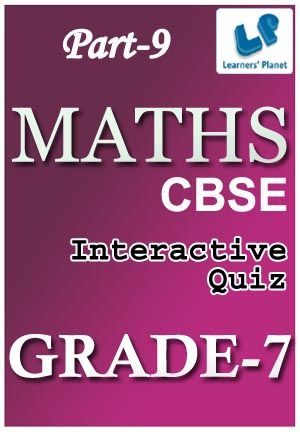 7-CBSE-MATHS-PART-9 Interactive quizzes & worksheets on Fractions ...