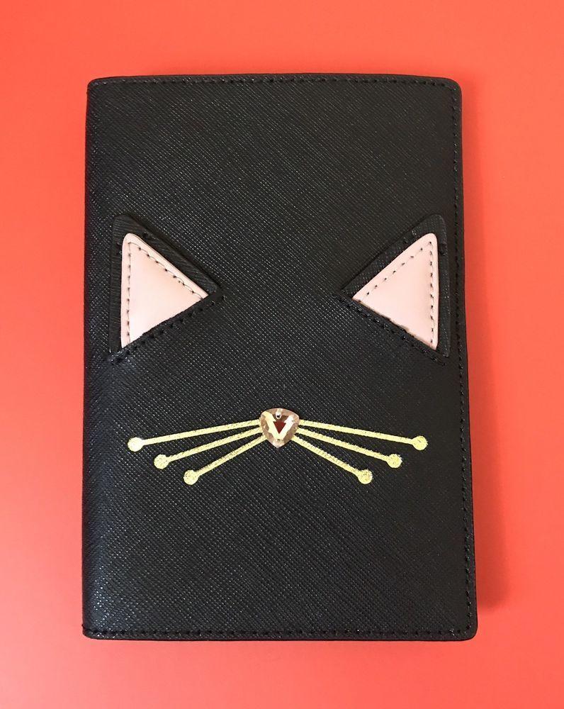 Kate Spade Imogene Jazz Things Up Cat Passport Holder NEW    eBay
