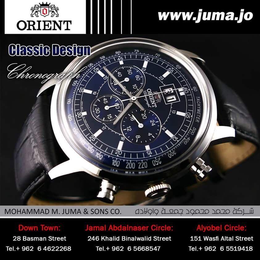 #orientwatch #orientwatches #wristwatch #classic #design #classic_design #luxury #fashion #watch #watches #orient #online #juma #jumajordan #jumastore #amman #jordan #jo  http://goo.gl/ywxwR7