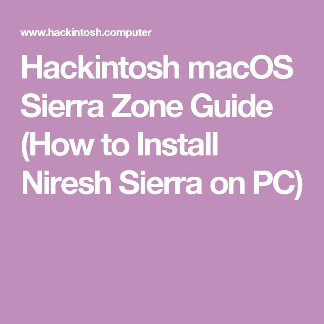 Niresh High Sierra Guide