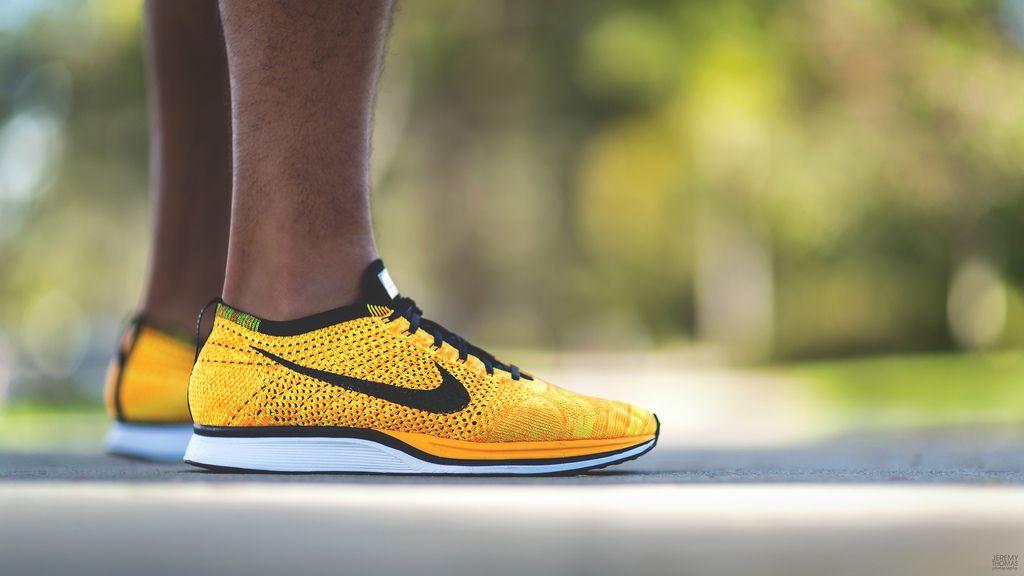 Nike Flyknit Racer - Team Orange aka Cheetos | Flickr - Photo Sharing!