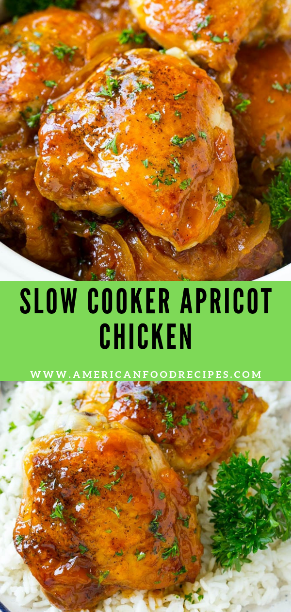 Photo of Slow Cooker Apricot Chicken – Recipe By Mom