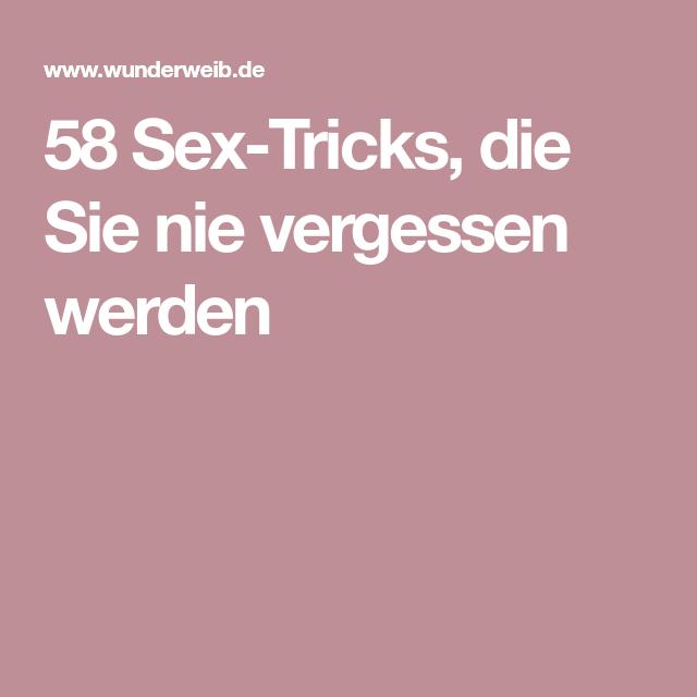58 Sex-Tricks, die Sie nie vergessen werden