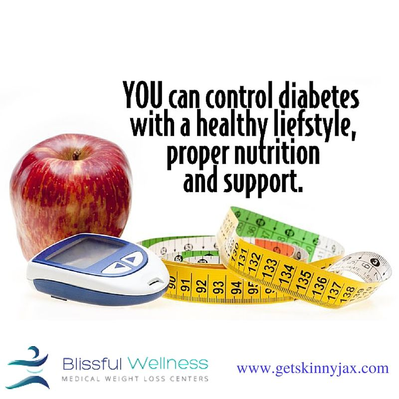 Diet plans for diabetics and other weightloss plans at Blissful Wellness, Jacksonville, FL. Learn more http://www.getskinnyjax.com/weight-loss-plans/