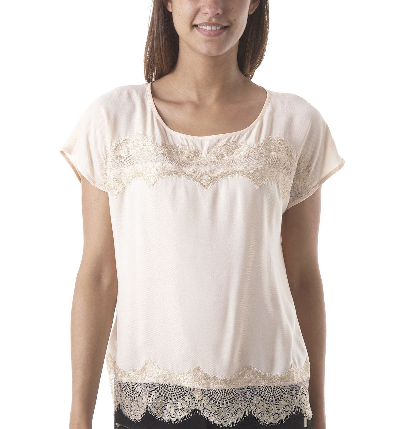 4c8349f06b Chic little top - Light pale pink - Women - Tops - Promod | Promod ...