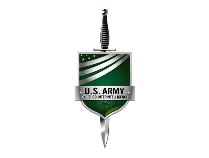 U.S Army logo design. Cyber counterintelligence. We did a great ...