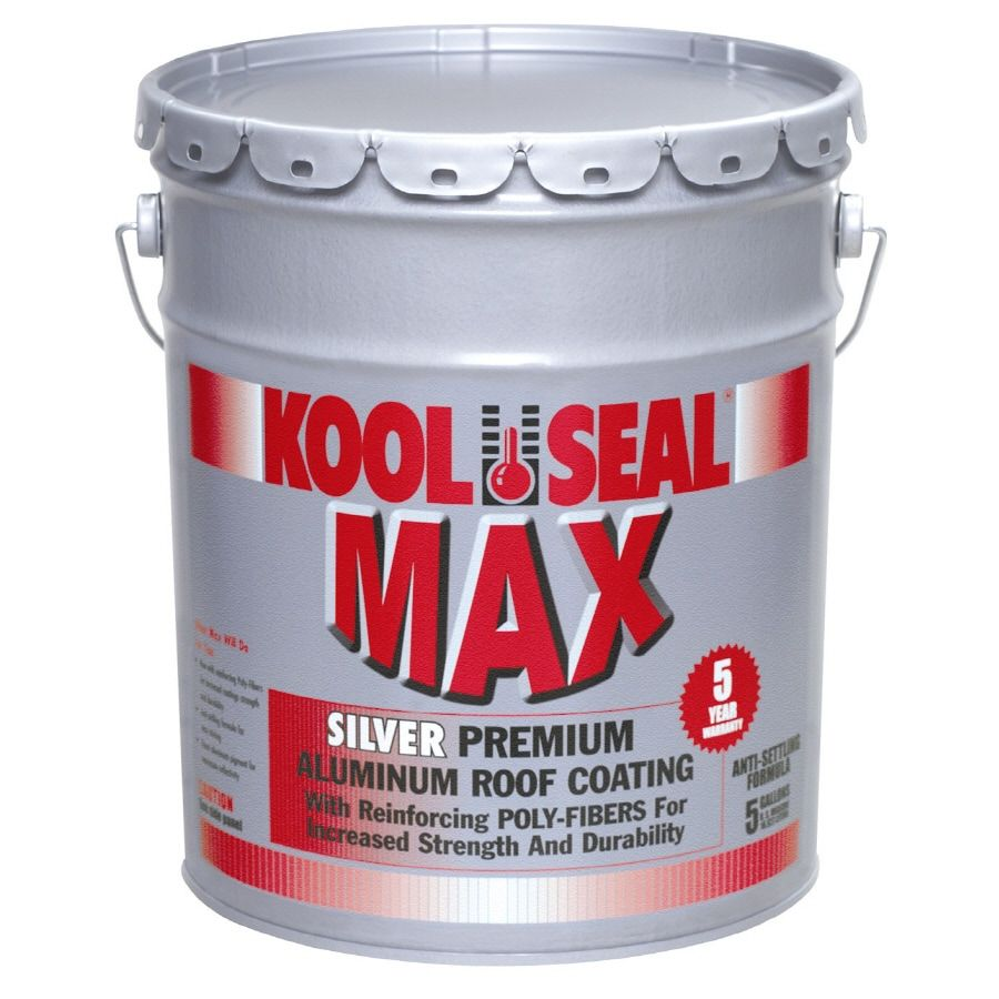 Kool Seal Aluminum Roof Coating Lowes In 2020 Aluminum Roof Roof Coating Roof Sealer