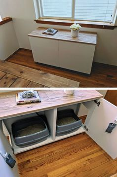 DIY Projekt: Mit dem IKEA Hack zum versteckten Katzenklo