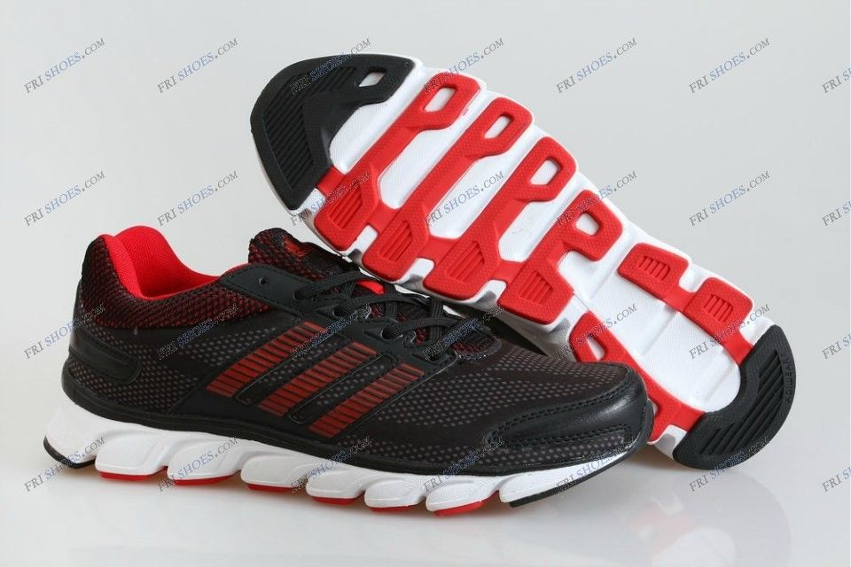 online retailer 86689 0f3b9 Adidas 2014 Springblade III Black Red Men's Running shoes ...
