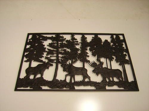 Moose Cast Iron Panel At Menards Cast Iron Railings Rustic