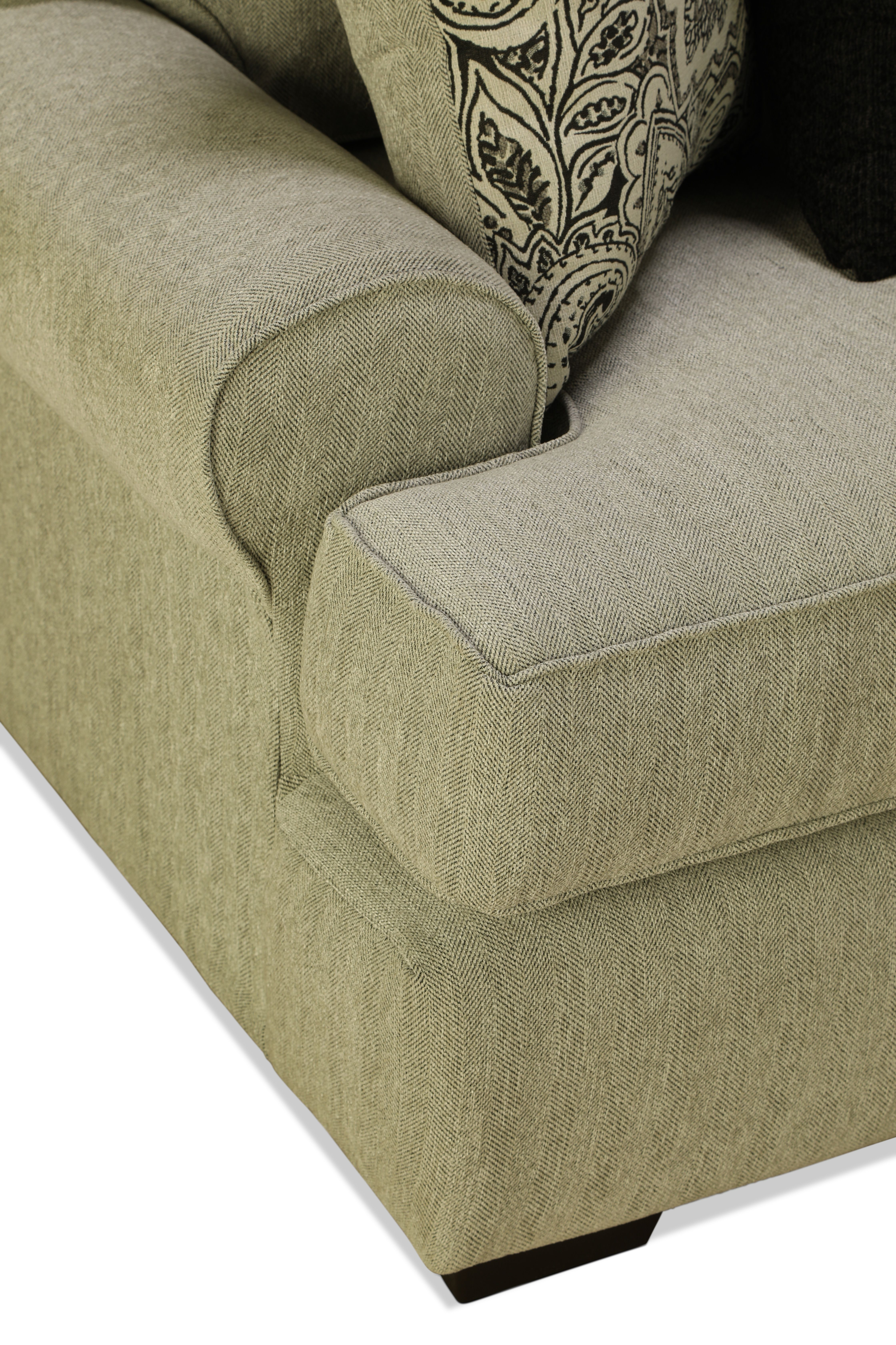 Manhattan 3pc Sectional Right Facing Levin Furniture Living Room Cabinets Living Furniture