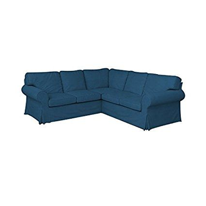 Amazon Com Mastersofcovers Ektorp 2 2 Sofa Cover Replacement Cutomoized For Ikea Ektorp 4 Seat Sectional Slipco Sectional Slipcover Ikea Sectional Sofa Covers