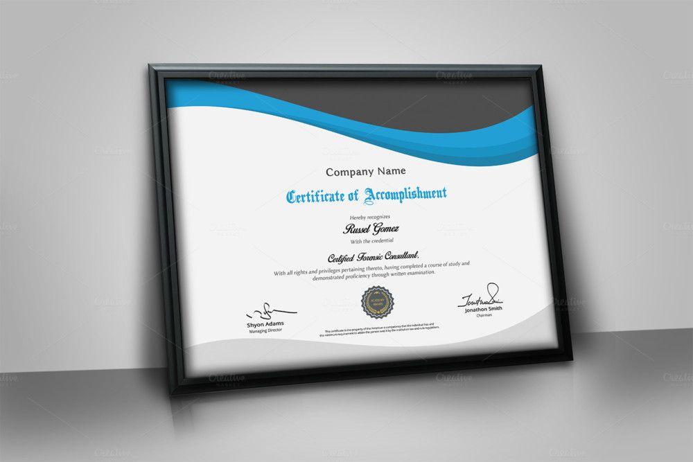 multipurpose corporate certificate template certificate of