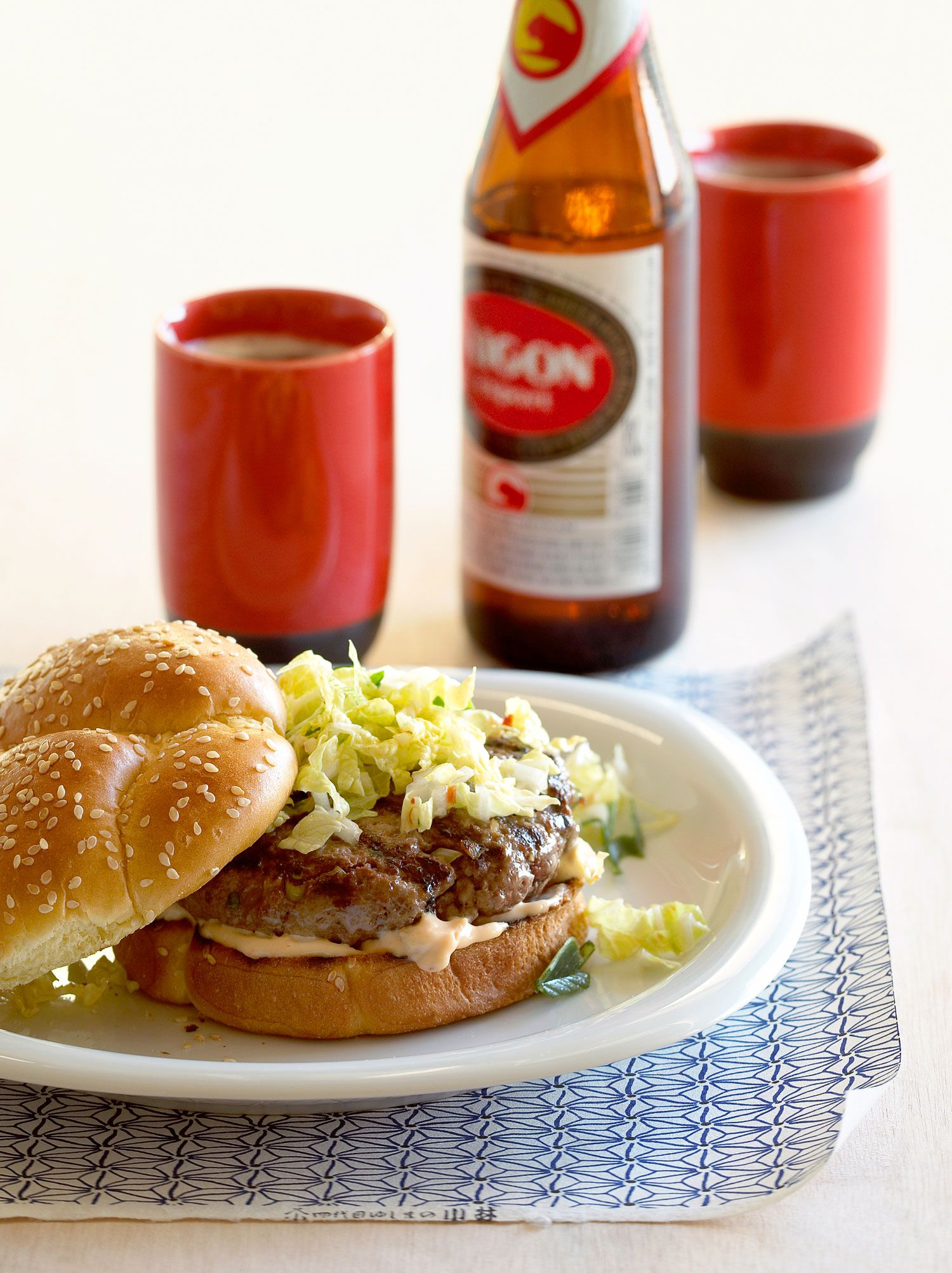 Easy Burger Recipes Delicious Burger Recipes Kimchi Burger Delicious Burgers