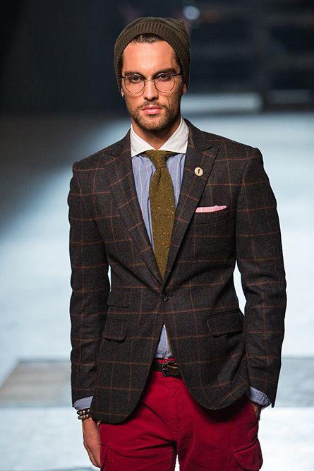 #hats #men michael-bastian-fall2013-menswear-47