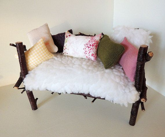 Forest sofa for 1/6 dolls by Carrot Atelier  $49.90