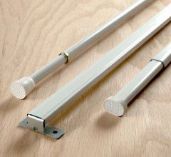 Spring Tension Curtain Rod By Diameter, By Kirsch
