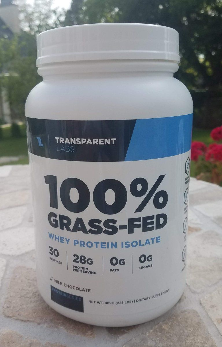 Transparent Labs 100 Grass Fed Whey Protein In Depth Review 2019 Grass Fed Whey Protein Whey Protein Best Protein Powder
