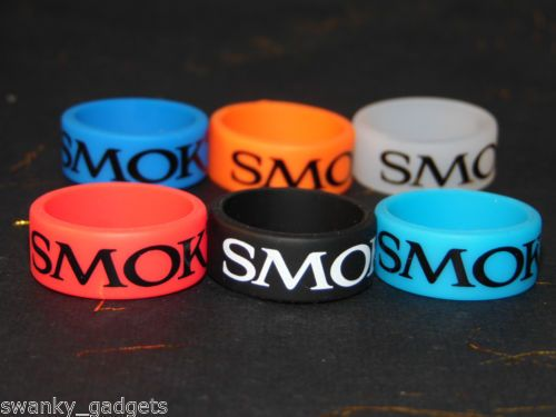Details about Smok Rubber Silicone Vape Band Ring 21x10mm Protection